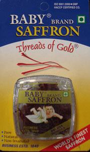 SIDDHSHREE BABY BRAND SAFRON(KESAR)VERY FINE QUALITY - Click Image to Close